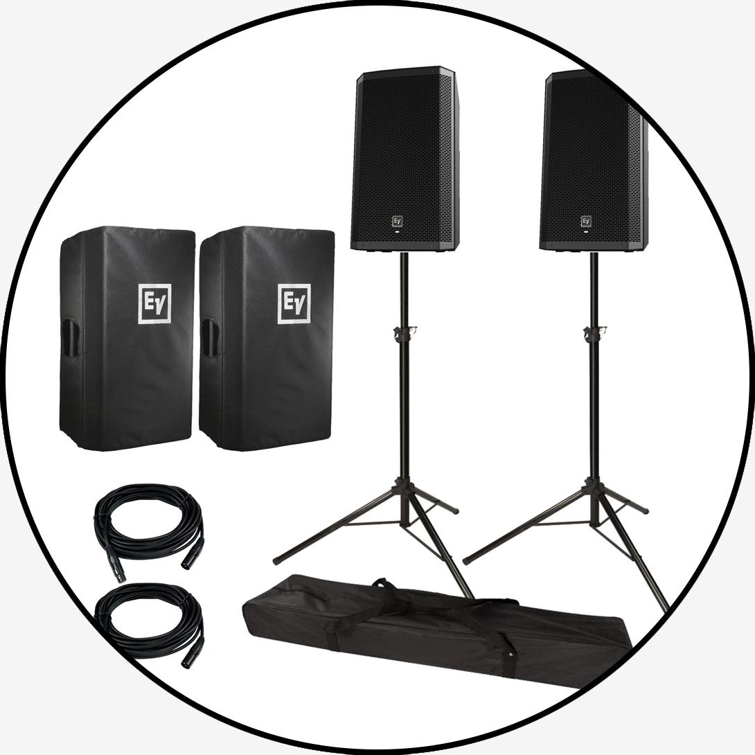 EV ZLX Speaker Package